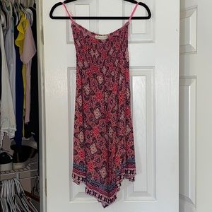 Urban Outfitters XS Aztec print strapless dress